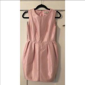 Adorable pink mini dress